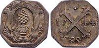 Silberabschlag vom Heller 1744 Augsburg, Stadt  feine Patina, ein kl. K... 170,00 EUR
