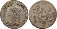 2 Mark 1671 Schweden Karl XI. 1660-1697. sehr schön  150,00 EUR  +  4,50 EUR shipping