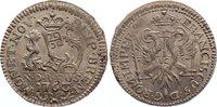1/12 Taler 1763 Bremen, Stadt  leichte Prägeschwäche, vorzüglich - Stem... 375,00 EUR