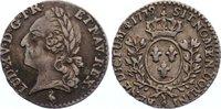 1/20 Écu 1 1779  A Frankreich Ludwig XVI. 1774-1793. Avers kl. Kratzer,... 75,00 EUR