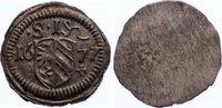 Nürnberg, Stadt Einseitiger Pfennig 1677 vorzüglich  20,00 EUR  zzgl. 3,50 EUR Versand