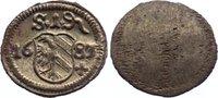 Nürnberg, Stadt Einseitiger Pfennig 1683 prägefrisch  25,00 EUR  zzgl. 3,50 EUR Versand
