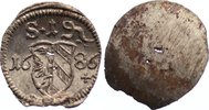 Nürnberg, Stadt Einseitiger Pfennig 1686 kl. Schrötlingslöcher, prägefri... 20,00 EUR  zzgl. 3,50 EUR Versand