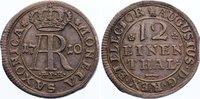 Sachsen-Albertinische Linie 1/12 Taler 1695 fast vorzüglich Friedrich Au... 425,00 EUR kostenloser Versand