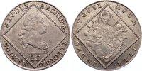 Bayern 20 Kreuzer 1773 leicht justiert, sehr schön - vorzüglich Maximili... 80,00 EUR  zzgl. 3,50 EUR Versand