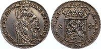 10 Stuiver 1791 Niederlande-Utrecht, Provinz  sehr schön +  110,00 EUR  +  4,50 EUR shipping