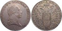 Taler 1820  A Haus Habsburg Franz II. (I.) 1792-1835. sehr schön  /  se... 85,00 EUR  zzgl. 3,50 EUR Versand