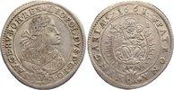 15 Kreuzer 1661  KB Haus Habsburg Leopold I. 1657-1705. sehr schön  75,00 EUR  zzgl. 3,50 EUR Versand