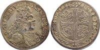 1/6 Taler 1694 Sachsen-Coburg Albrecht III. 1680-1699. kl. Zainende, se... 140,00 EUR  +  4,50 EUR shipping
