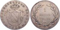 Kronentaler 1815  D Baden-Durlach Carl Ludwig Friedrich 1811-1818. kl. ... 200,00 EUR  zzgl. 3,50 EUR Versand