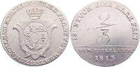 Vaterlandsgulden 1813 Mecklenburg-Schwerin Friedrich Franz I. 1785-1837... 235,00 EUR  +  4,50 EUR shipping