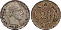 25 Öre 1 1894 Dänemark Christian IX. 1863-1906. sehr schön  30,00 EUR  zzgl. 3,50 EUR Versand