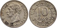 10 Öre 1 1911 Dänemark Frederik VIII. 1906-1912. sehr schön  35,00 EUR  zzgl. 3,50 EUR Versand