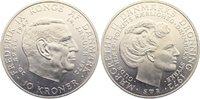 10 Kronen 1972  SB Dänemark Margrethe II. seit 1972. fast Stempelglanz  10,00 EUR  zzgl. 1,00 EUR Versand