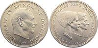 10 Kronen 1967  CS Dänemark Frederik IX. 1947-1972. ein kl. Kratzer, fa... 10,00 EUR  zzgl. 1,00 EUR Versand