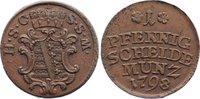 Cu Pfennig 1798 Sachsen-Coburg-Saalfeld Ernst Friedrich 1764-1800. vorz... 55,00 EUR  zzgl. 3,50 EUR Versand