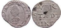Kipper 6 Kreuzer 1622 Augsburg, Stadt  selten, Zainende, sehr schön  375,00 EUR kostenloser Versand