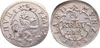 2 Kreuzer 1743  O Pfalz, Kurlinie Karl Theodor 1742-1799. kl. Belagrest... 45,00 EUR  zzgl. 3,50 EUR Versand