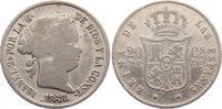 20 Centavos 1868 Philippinen Isabella II. 1833-1868. schön - sehr schön  30,00 EUR  zzgl. 3,50 EUR Versand