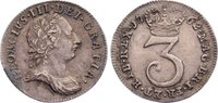 Threepence 1762 Großbritannien George III. 1760-1820. zaponiert, sehr s... 35,00 EUR  zzgl. 3,50 EUR Versand
