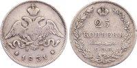 25 Kopeken 1831 Russland Nikolaus I. 1825-1855. fast sehr schön  110,00 EUR  zzgl. 3,50 EUR Versand
