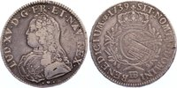 Ecu aux branches d´olivier 1 1739  BB Frankreich Ludwig XV. 1715-1774. ... 100,00 EUR  zzgl. 3,50 EUR Versand