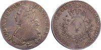 1/5 Écu 1 1787  R Frankreich Ludwig XVI. 1774-1793. Kratzer, sehr schön  95,00 EUR  zzgl. 3,50 EUR Versand