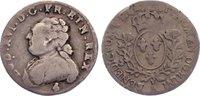 1/20 Écu (6 Sols) 1 1782  A Frankreich Ludwig XVI. 1774-1793. fast sehr... 75,00 EUR  zzgl. 3,50 EUR Versand