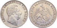 Ausbeute Gulden 1852 Baden-Durlach Leopold 1830-1852. kl. Randfehler, s... 110,00 EUR  zzgl. 3,50 EUR Versand
