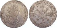 1/2 Ecu aux 8L 1704  A Frankreich Ludwig XIV. 1643-1715. fast sehr schön  85,00 EUR  zzgl. 3,50 EUR Versand