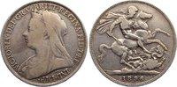 Crown 1896 Großbritannien Victoria 1837-1901. fast sehr schön  35,00 EUR  zzgl. 3,50 EUR Versand