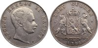Doppelgulden 1846 Nassau Adolph 1839-1866. kl. Randfehler, sehr schön  135,00 EUR  zzgl. 3,50 EUR Versand
