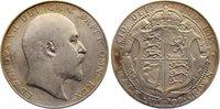 Halfcrown 1909 Großbritannien Edward VII. 1901-1910. fast sehr schön  25,00 EUR  zzgl. 3,50 EUR Versand