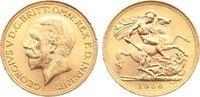 Sovereign 1930  SA Südafrika  Gold, min. Randfehler, vorzüglich  320,00 EUR  +  4,50 EUR shipping