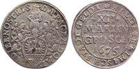 12 Mariengroschen 1675 Hildesheim, Stadt  sehr schön  80,00 EUR  zzgl. 3,50 EUR Versand