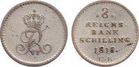 8 Reichsbankschilling 1818  CB Schleswig-Holstein, Königliche Linie Fri... 40,00 EUR  zzgl. 3,50 EUR Versand
