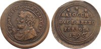 Cu 2 1/2 Baiocchi 1796 Italien-Kirchenstaat Pius VI. (Giovanni Angelo B... 145,00 EUR  zzgl. 3,50 EUR Versand