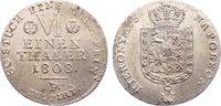 1/6 Taler 1808  F Westfalen, Königreich Hieronymus Napoleon 1807-1813. ... 210,00 EUR  zzgl. 3,50 EUR Versand