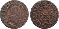 Double Liard 1637 Frankreich-Principauté souveraine d'Henrichemont u Ma... 50,00 EUR  zzgl. 3,50 EUR Versand