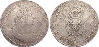 Écu aux insignes 1 1701  A Frankreich Ludwig XIV. 1643-1715. Überprägun... 165,00 EUR  zzgl. 3,50 EUR Versand