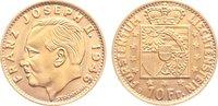 10 Franken 1946 Liechtenstein Franz Joseph II. 1938-1989. fast Stempelg... 235,00 EUR  zzgl. 3,50 EUR Versand