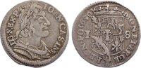 18 Gröscher 1 1650 Polen Johann Casimir 1649-1668. Stempelfehler, sehr ... 165,00 EUR  zzgl. 3,50 EUR Versand