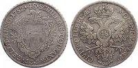 Taler (zu 48 Schilling) 1752 Lübeck, Stadt  sehr schön  120,00 EUR  zzgl. 3,50 EUR Versand