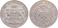5 Mark 1895  J Hamburg  kl. Randfehler, sehr schön  40,00 EUR  zzgl. 3,50 EUR Versand