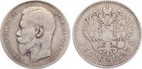 Rubel 1897 Russland Nikolaus II. 1894-1917. schön - sehr schön  25,00 EUR  zzgl. 3,50 EUR Versand