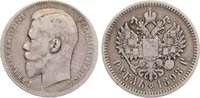 Rubel 1898  AG Russland Nikolaus II. 1894-1917. fast sehr schön  30,00 EUR  zzgl. 3,50 EUR Versand