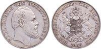 Taler 1868 Württemberg Karl 1864-1891. sehr schön +  150,00 EUR  zzgl. 3,50 EUR Versand