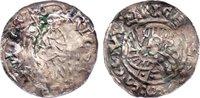 Denar  1012-1033 Böhmen Ulrich 1012-1033. leicht gewellt, Fundbelagrest... 295,00 EUR  zzgl. 3,50 EUR Versand