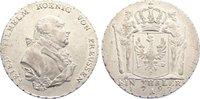Taler 1797  A Brandenburg-Preußen Friedrich Wilhelm II. 1786-1797. min.... 625,00 EUR kostenloser Versand