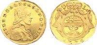 1/4 Dukat 1776 Salzburg, Erzbistum Hieronymus Graf Colloredo 1772-1803.... 585,00 EUR kostenloser Versand